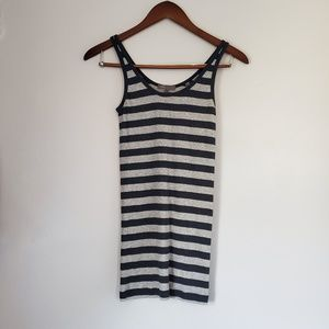 Vince stretchy striped tank top